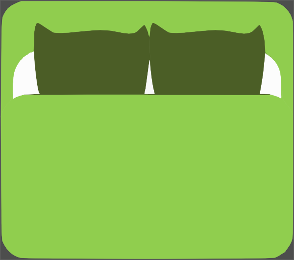 Bed clipart king bed. Clip art at clker