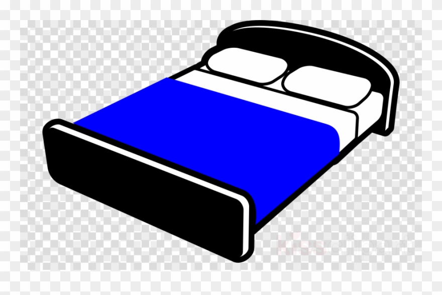 Size clip art black. Bed clipart king bed