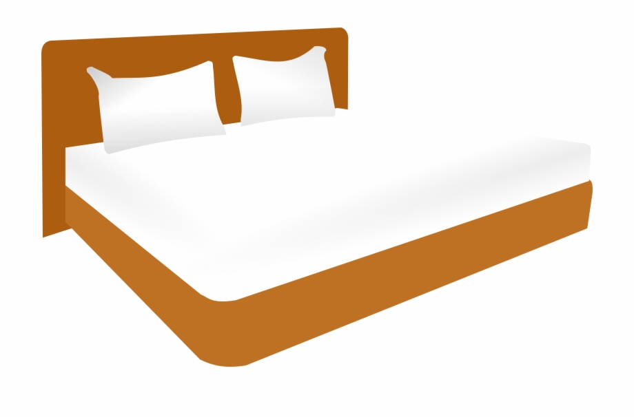 Bed clipart king bed. Graphic royalty free big