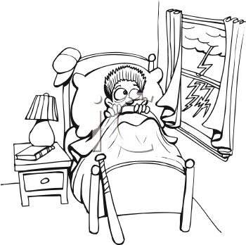 Bed clipart line art. Royalty free bedroom clip