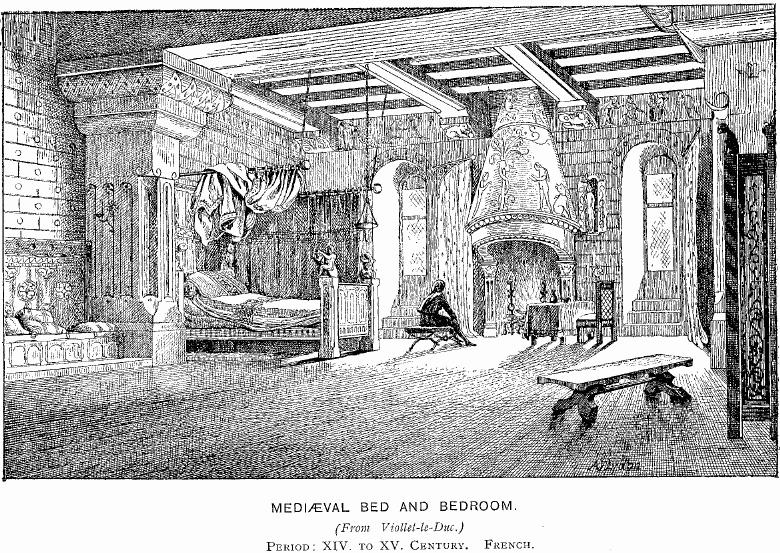 Bedroom clipart medieval. Bed pencil and in