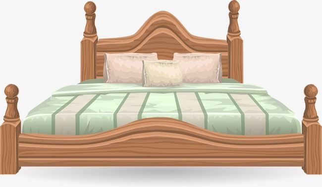 Bed clipart queen bed. Fashion big refinement png