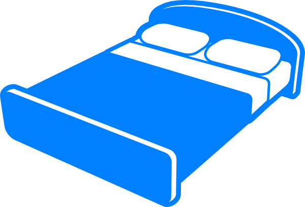 Bed clipart queen bed. Size