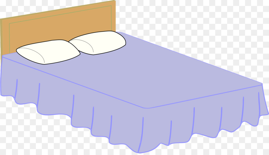 Bed clipart rectangle. Material frame pillow transparent