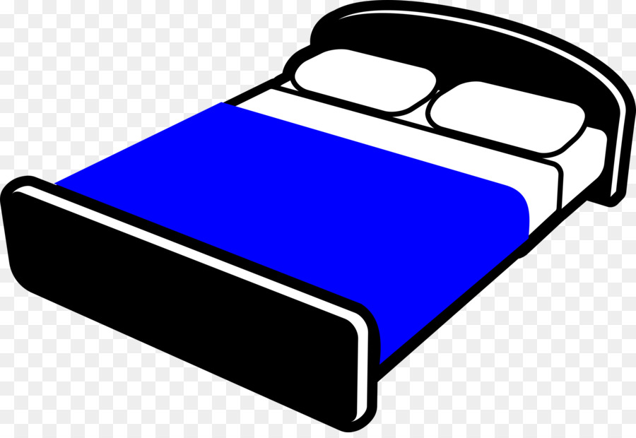 Bed clipart rectangle. Blue background frame transparent
