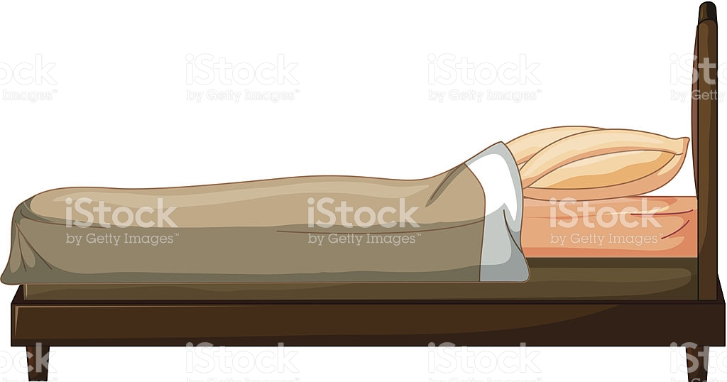 collection of high. Bed clipart side view