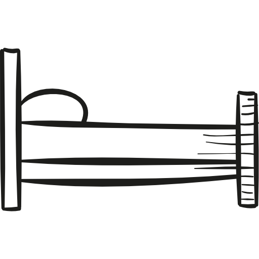 Images gallery for free. Bed clipart side view