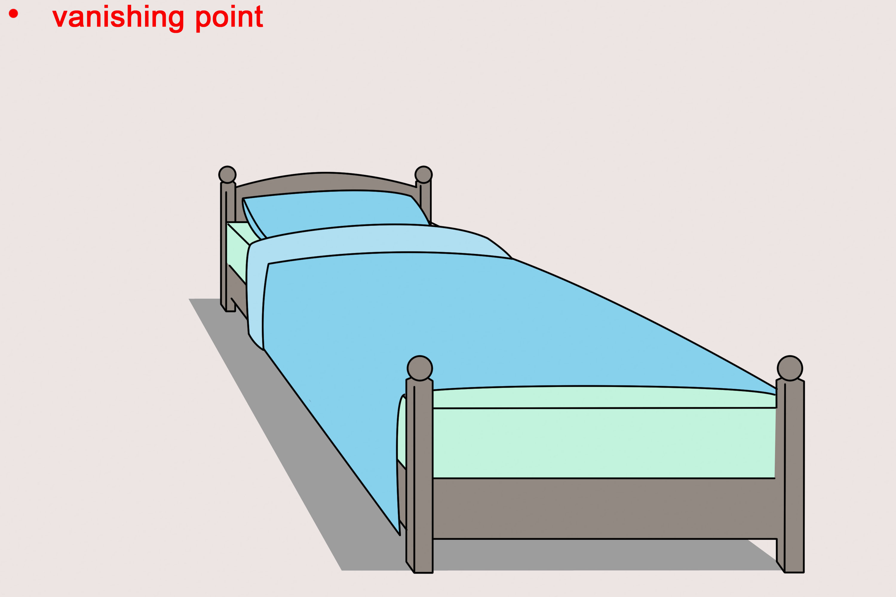 Bed clipart simple. Ways draw wikihow tierra