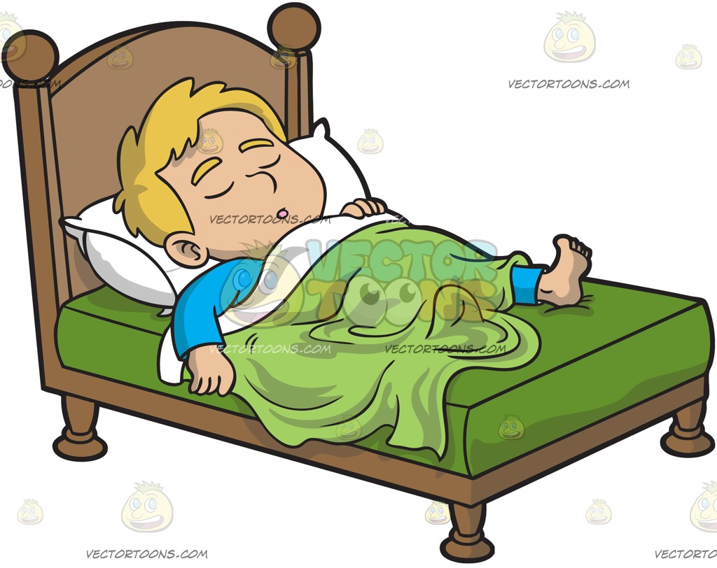Bed clipart sleeping.  collection of boy