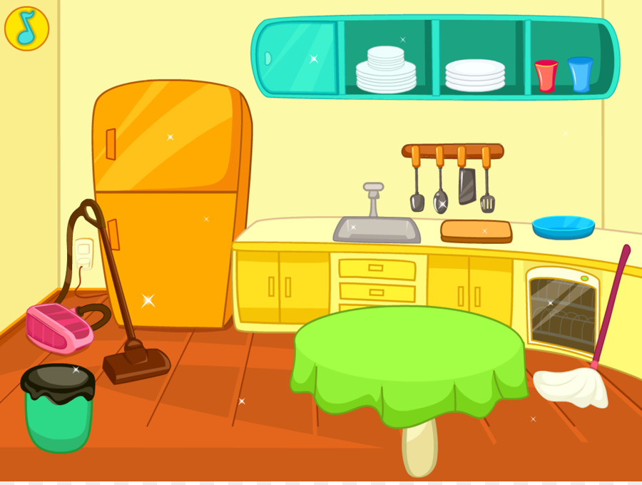 Housekeeping clipart mess. Table kitchen cleaning clip