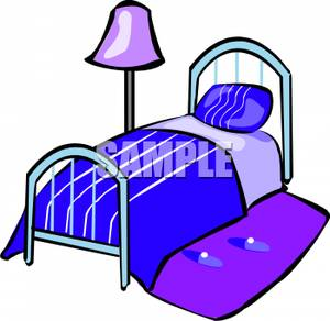Bed clipart twin bed.