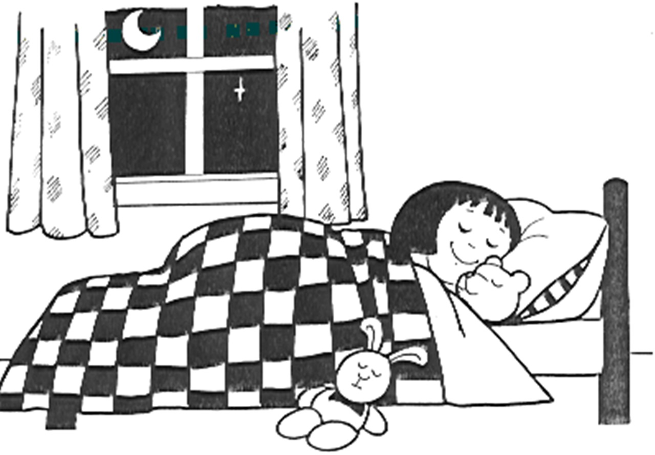 Bedroom clipart black and white. Station
