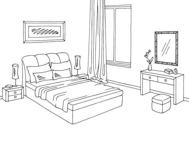 Nakedsnakepress com www stkittsvilla. Bedroom clipart black and white