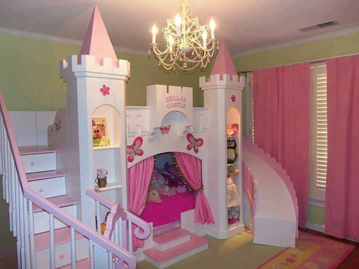 Inspiration princess for toddlers. Bedroom clipart castle