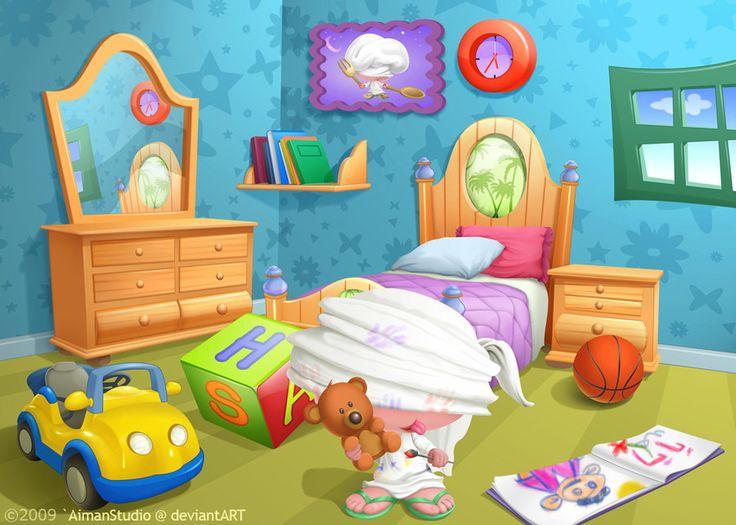 Impressive bed clip art. Bedroom clipart child bedroom