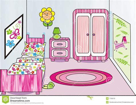 Bedroom clipart child bedroom. Some kid illustration of