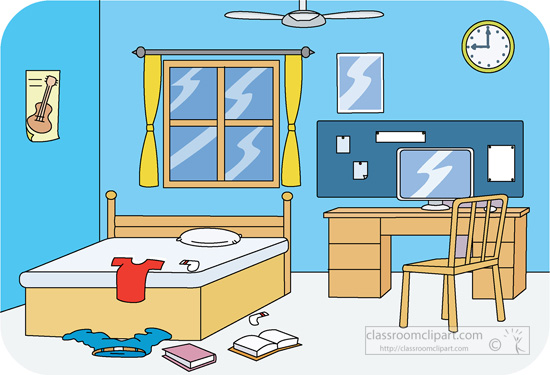 Bedroom clipart children's. Library childrens room pencil