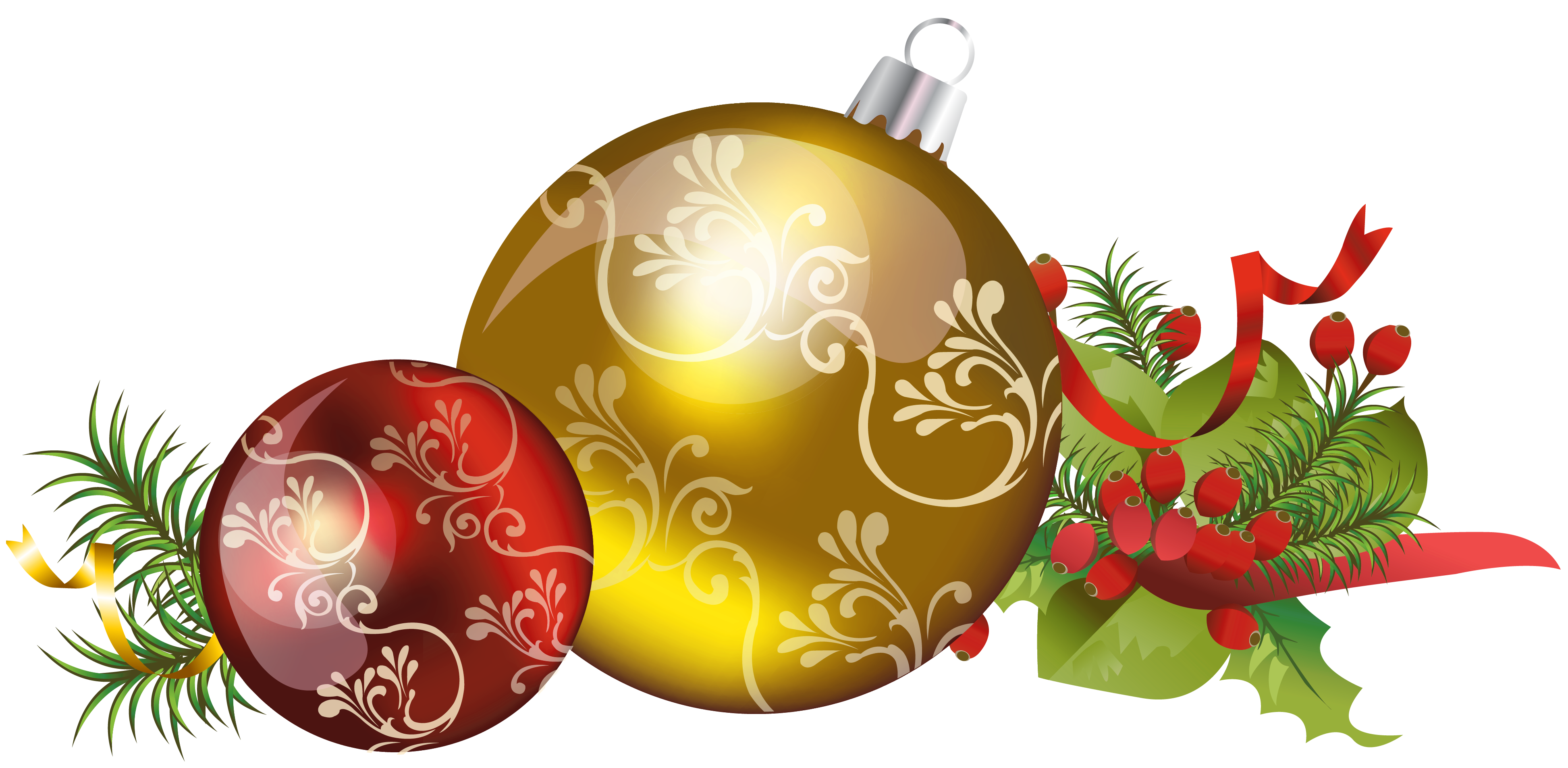 Christmas ball ornaments impressive. Decoration clipart hanukkah