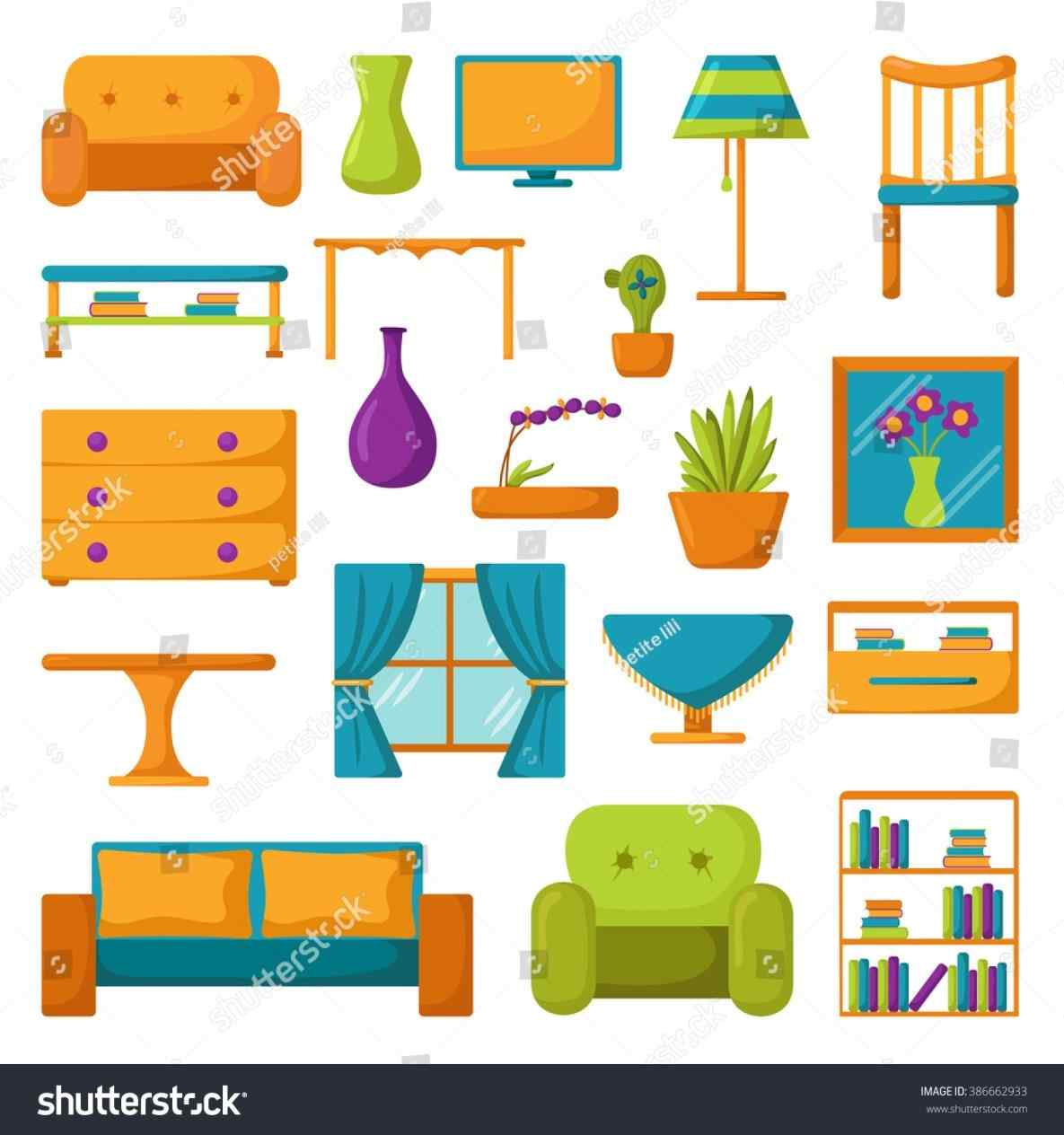 Furniture clipart. The images collection of