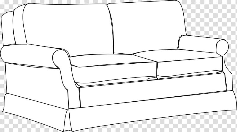 Living room sofa transparent. Couch clipart bedroom