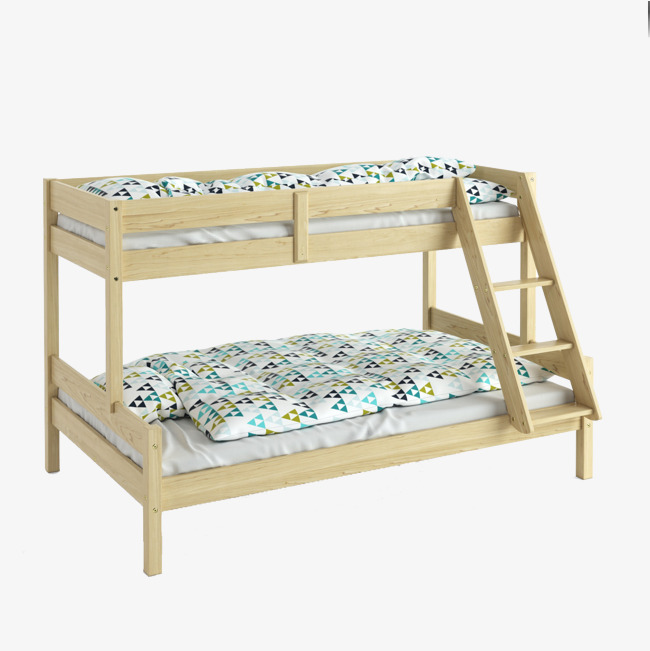 Bedroom clipart dormitory. Simple log bed double