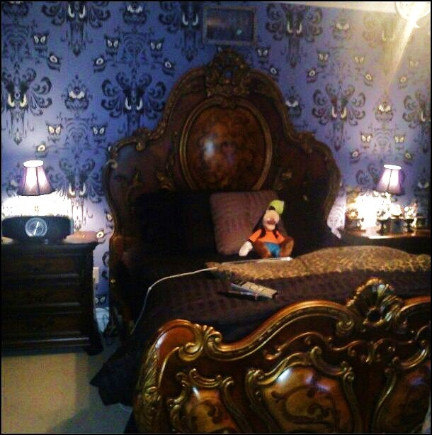 best our house. Bedroom clipart haunted