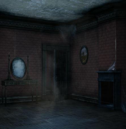 Bedroom clipart haunted. Room graphics butterflywebgraphics horror