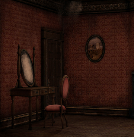 Room graphics butterflywebgraphics backgrounds. Bedroom clipart haunted