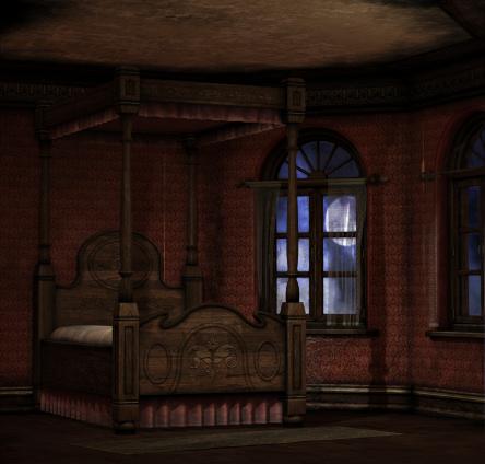 Bedroom clipart haunted. Room graphics butterflywebgraphics backgrounds