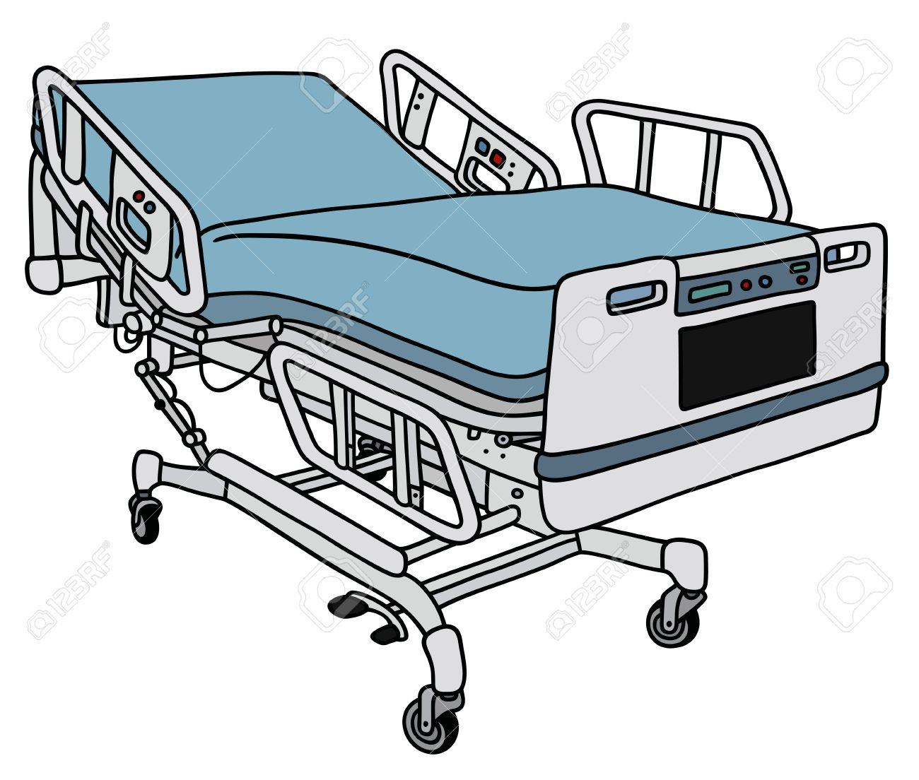 Bedroom clipart hospital.  collection of bed