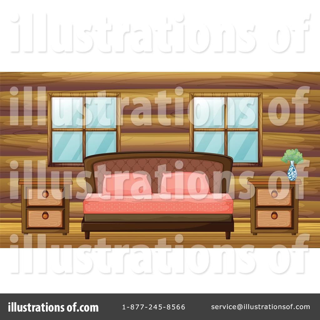 Bedroom clipart illustration. By graphics rf royaltyfree