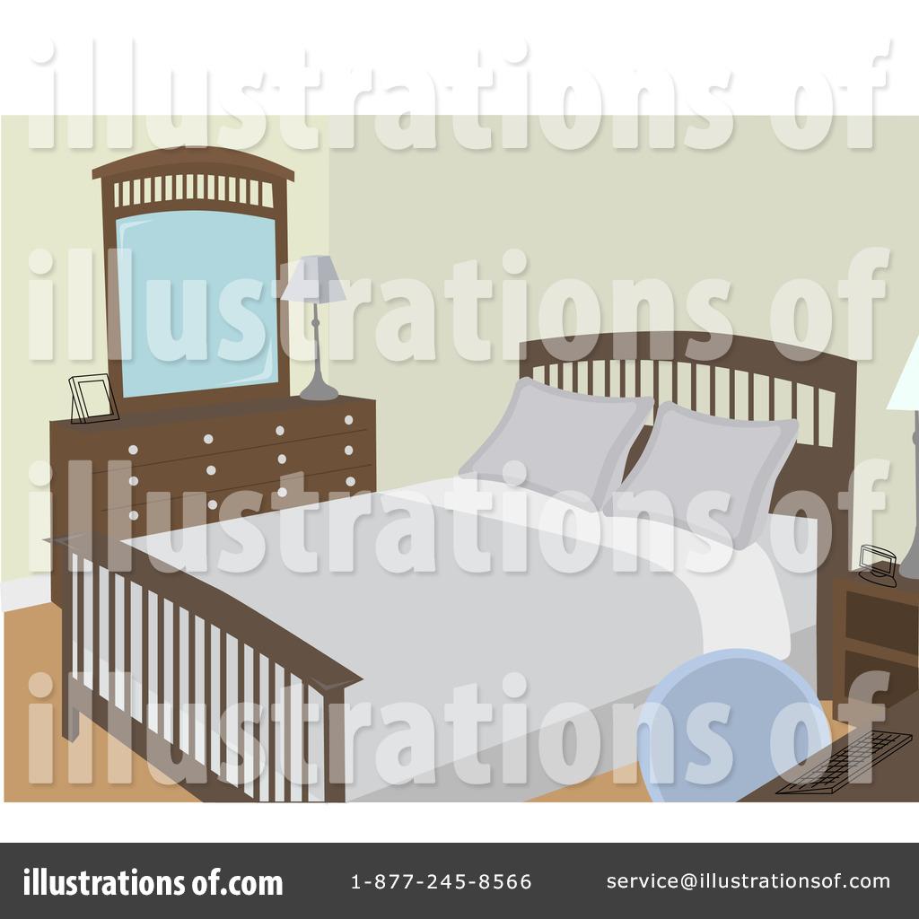 By mheld royaltyfree rf. Bedroom clipart illustration