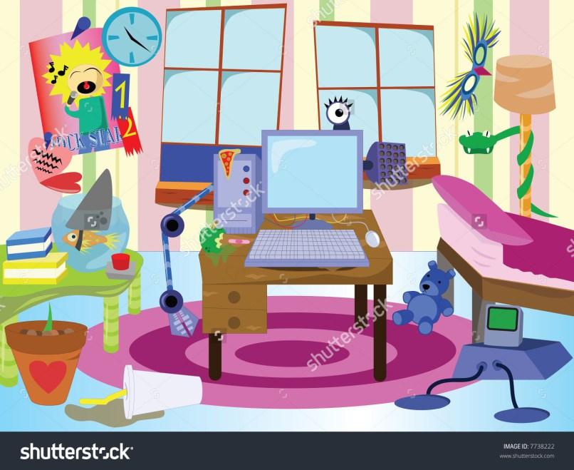 Bedroom clipart living room. Messy conceptstructuresllc com of