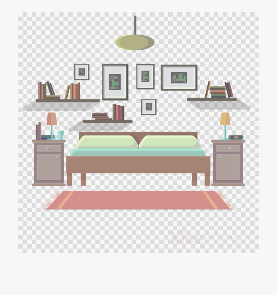 Bedroom clipart living room. House free cliparts