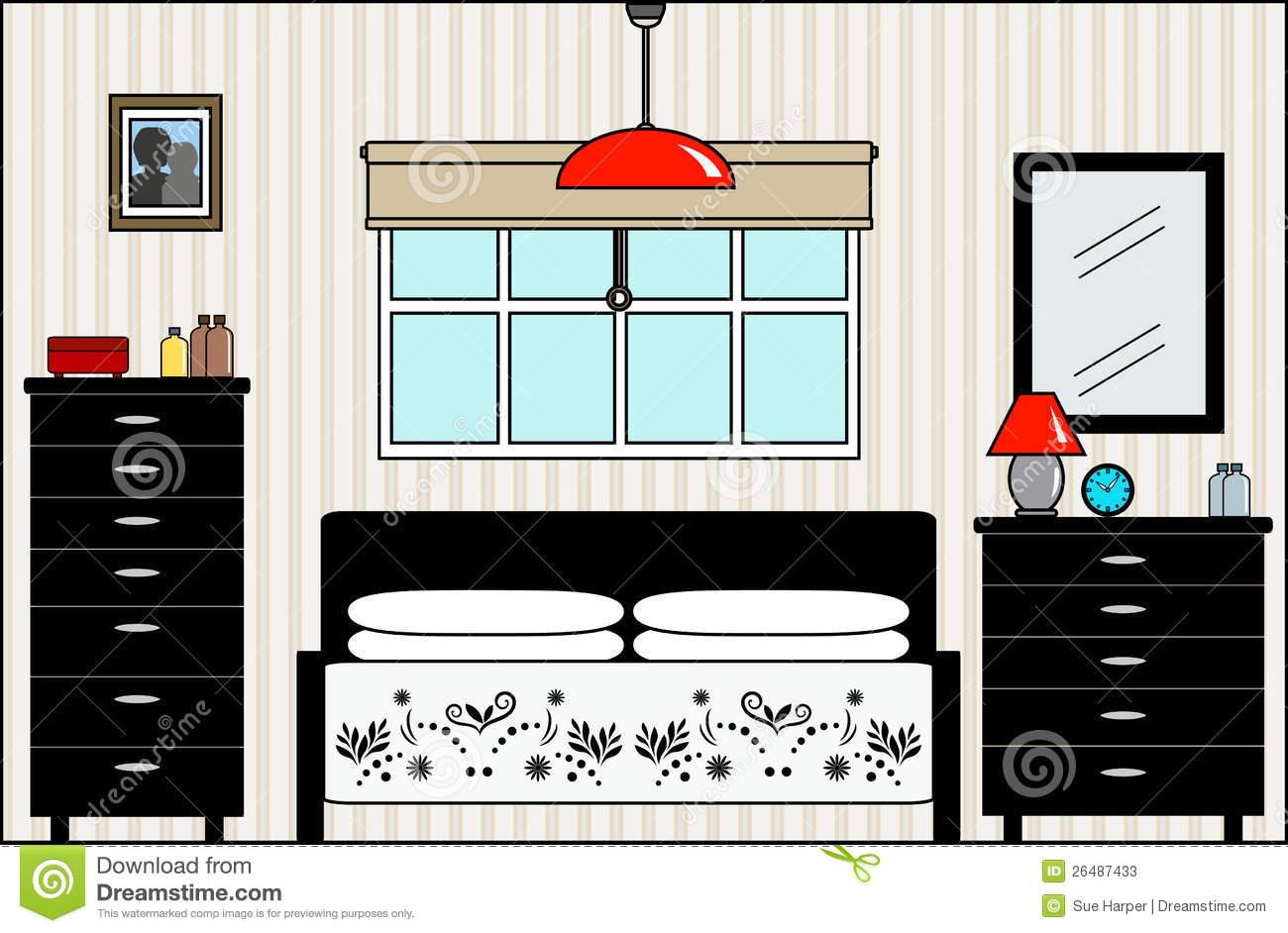 bedroom clipart master bedroom