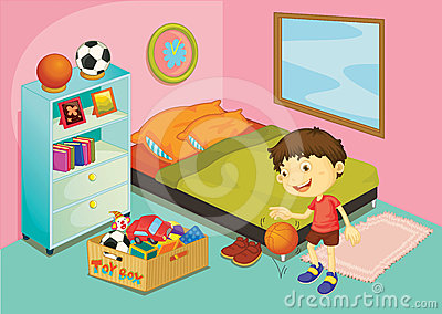 Room pencil and in. Bedroom clipart neat