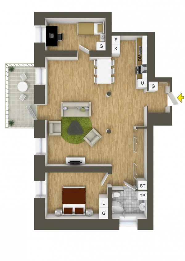 more home floor. Bedroom clipart neat room