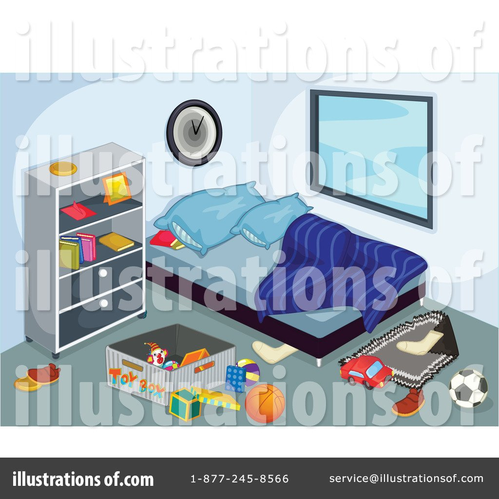 Bedroom clipart neat room. Clean house before and