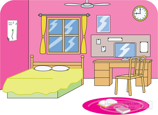 Furniture clipart bed. Living room neat pencil