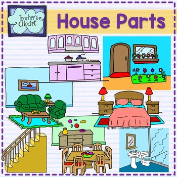 Parts of the clip. Bedroom clipart part house bedroom