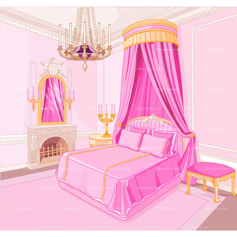 Bedroom clipart room decor. Panda free images bedroomclipart