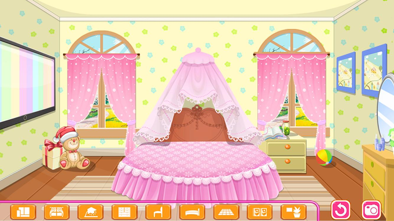 Princess games all about. Bedroom clipart room decor
