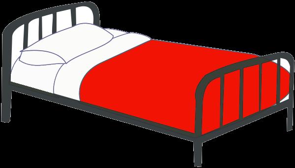 Bedroom clipart transparent. Bed clip art free