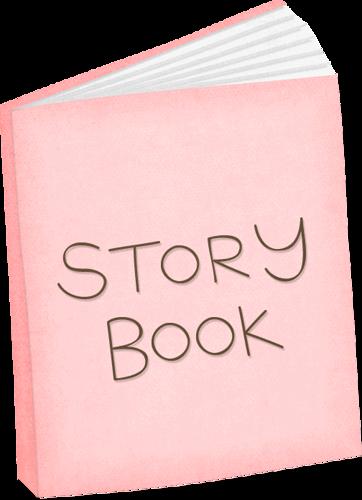 Bedtime clipart bedtime book. Pink story clip art
