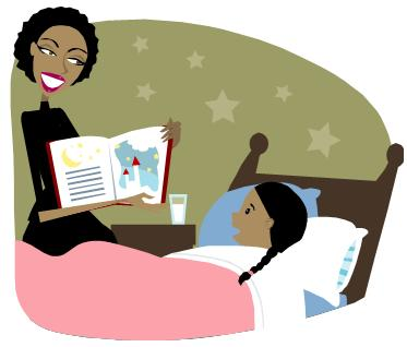 Bedtime clipart bedtime book. Books