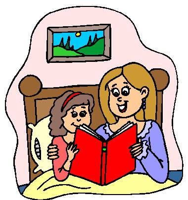 Book . Bedtime clipart bedtime reading