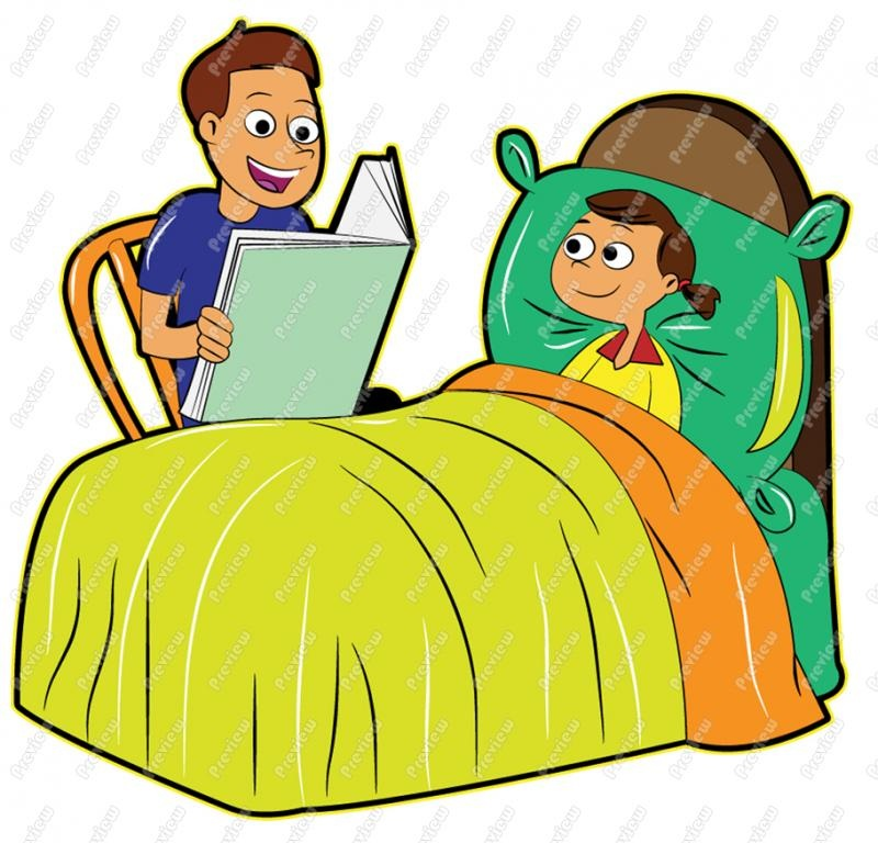 Story hd letters father. Bedtime clipart bedtime reading