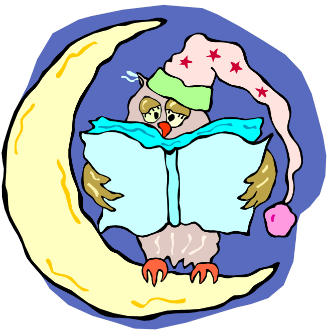 Bedtime clipart bedtime reading. Read rabbit early literacy