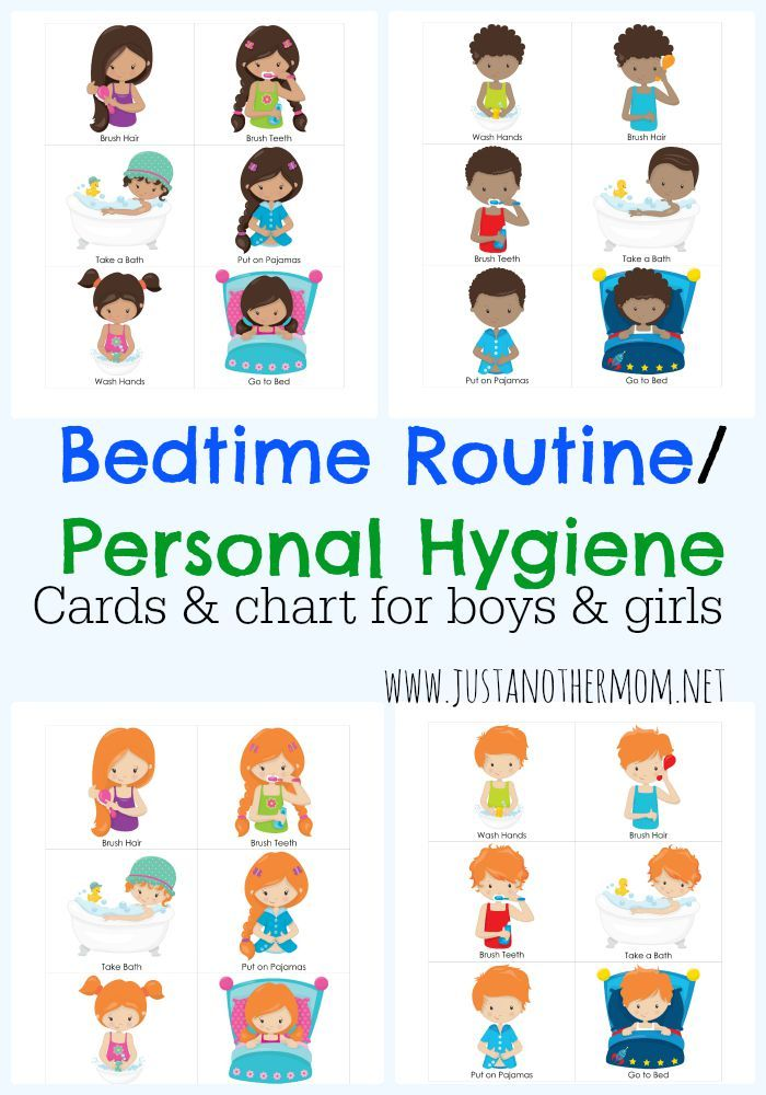 Chart and cards does. Bedtime clipart bedtime routine