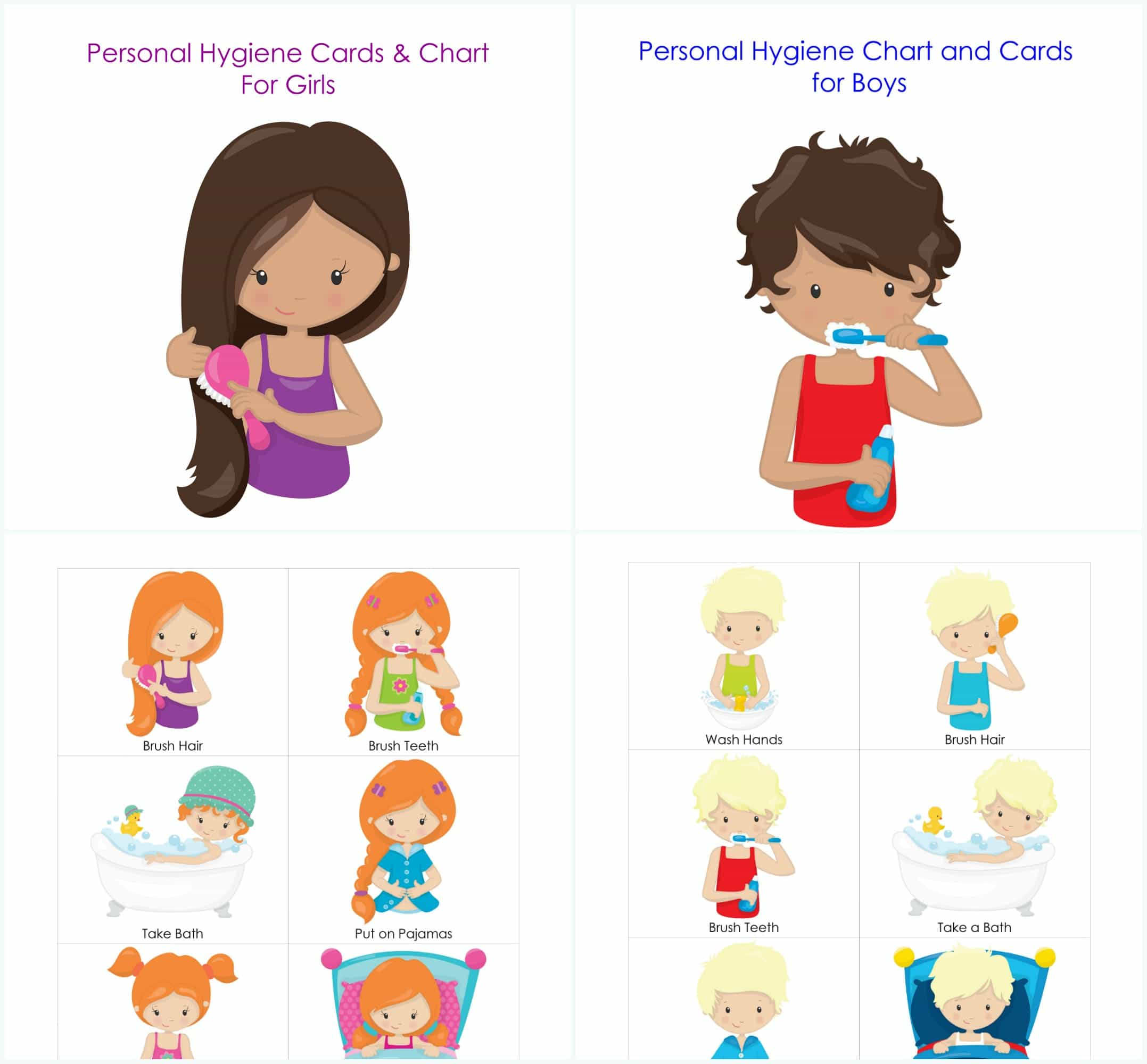 Bedtime clipart bedtime routine. Chart and cards